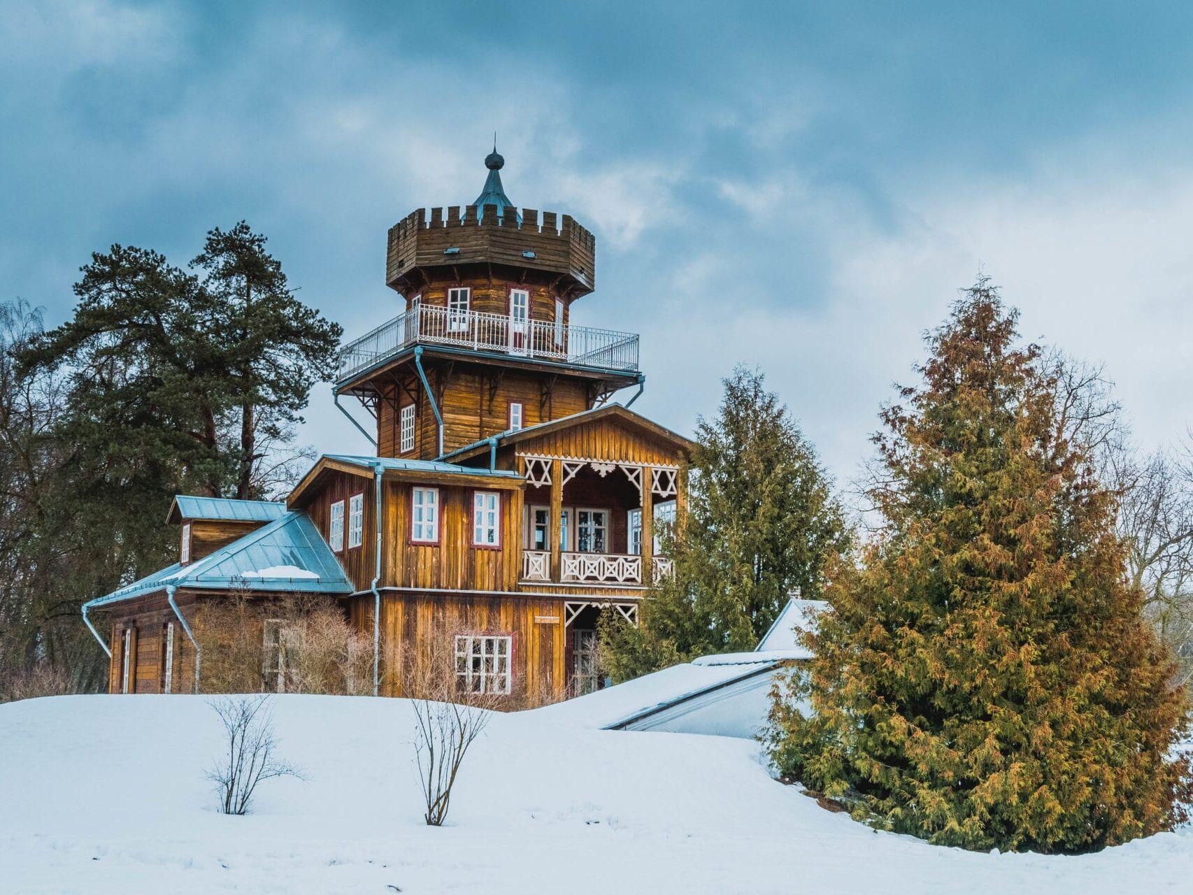 Зимний пейзаж, фотограф Яна Фахуретдинова