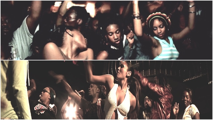 Танец dancehall