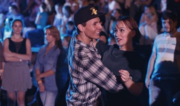 Танец Дискофокс