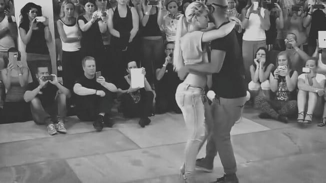 Чувственный танец кизомба