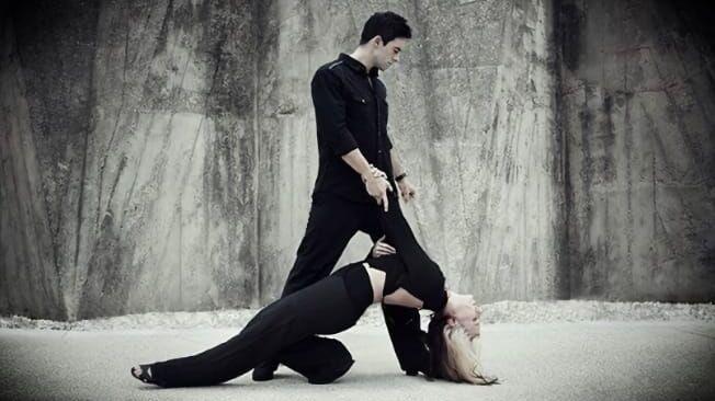 Парный танец WCS